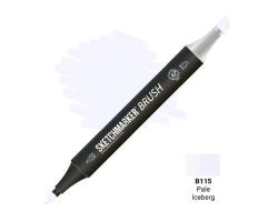 Маркер SketchMarker Brush кисть Блідий айсберг SMB-B115