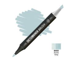 Маркер SketchMarker Brush кисть Арктичний сірий SMB-BG83