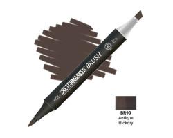 Маркер SketchMarker Brush кисть Античний Хікорі SMB-BR90