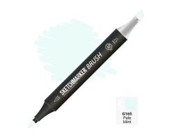 Маркер SketchMarker Brush кисть Бліда м'ята SMB-G165