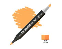 Маркер SketchMarker Brush кисть Абрикос SMB-O63