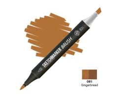 Маркер SketchMarker Brush кисть Імбирний пряник SMB-O81