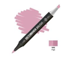 Маркер SketchMarker Brush кисть Інжир SMB-V92