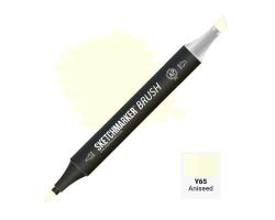 Маркер SketchMarker Brush кисть Аніс SMB-Y65