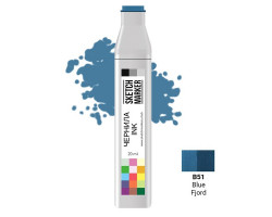 Заправка для маркеров SKETCHMARKER B51 чернила 20 мл Блакитний фіорд