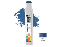 Заправка для маркеров SKETCHMARKER B61 чернила 20 мл Джинсовий
