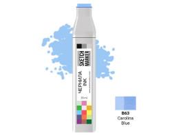 Заправка для маркеров SKETCHMARKER B63 чернила 20 мл Кароліна блакитна