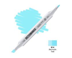 Маркер Sketchmarker Bermuda Teal (Бермудская бирюза), SM-B014