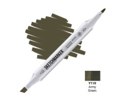 Маркер Sketchmarker Army Green (Армейский зелёный), SM-Y110