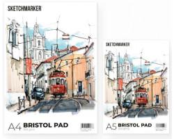 Альбом для маркеров A4 SKETCHMARKER BRISTOL PAD 300gsm (A4, 20 листов, 200 g плотность)