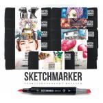 Маркеры Sketchmarker Brush наборы