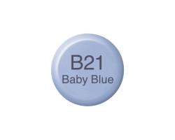 Чернила Copic B-21 Baby blue (Нежно-синий) 12 мл