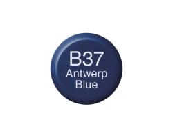 Чернила Copic B-37 Antwerp blue (Насыщенно-синий) 12 мл