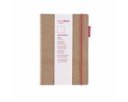 Блокнот COPIC Sense Book Red Rubber, 14х21см, А5, 135 листов, 80г 75020500