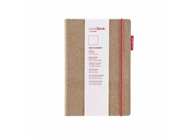 Блокнот COPIC Sense Book Red Rubber, 14х21см, А5, 135 листов, 80г 75020500