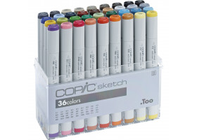 Маркеры Copic в наборе Sketch 36 шт 21075158