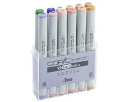 Copic набор маркеров Copic Sketch EX-3 12 шт 21075413