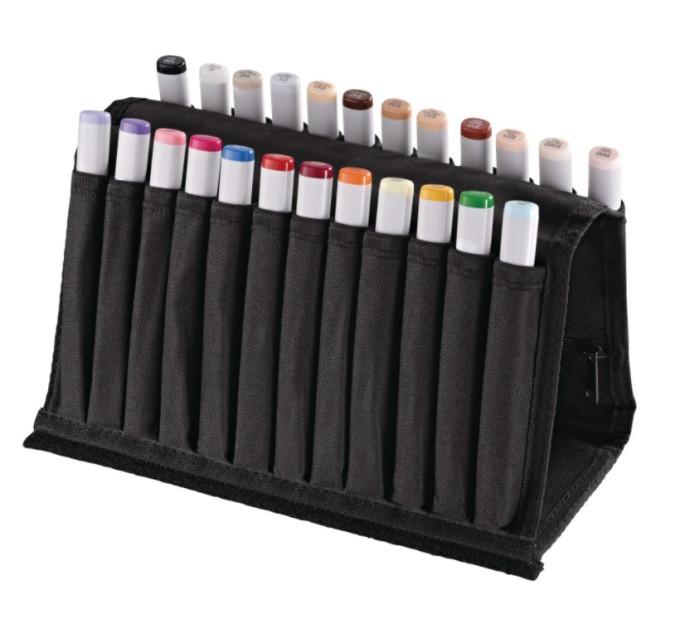 Набор маркеров Copic Sketch 24 в тканевом пенале 21075424