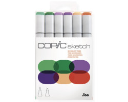 Маркеры Copic Sketch Set Secondary Tones 6 шт 21075663