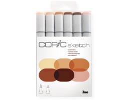 Маркеры Copic Sketch Set Skin Tones 6 шт 21075666