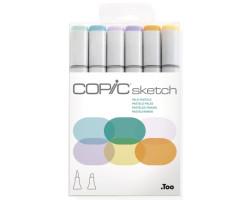 Маркеры Copic Sketch Set Pale Pastels 6 шт 21075667
