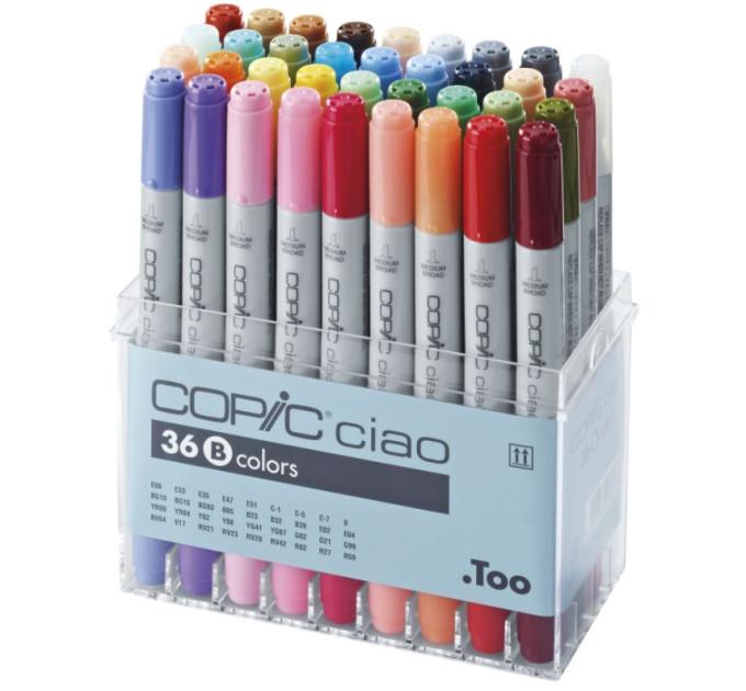 Маркеры Copic Ciao B 36 шт 22075362