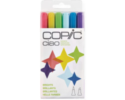 Маркеры Copic Ciao Set Brights  6 шт 22075665