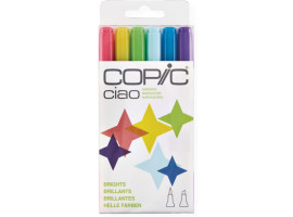 Маркеры Copic Ciao Set Brights  6 шт 22075665