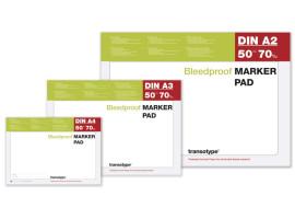 Альбом для маркеров A2 Transotype Alcohol Marker Pad 70 gm2, 50 листов