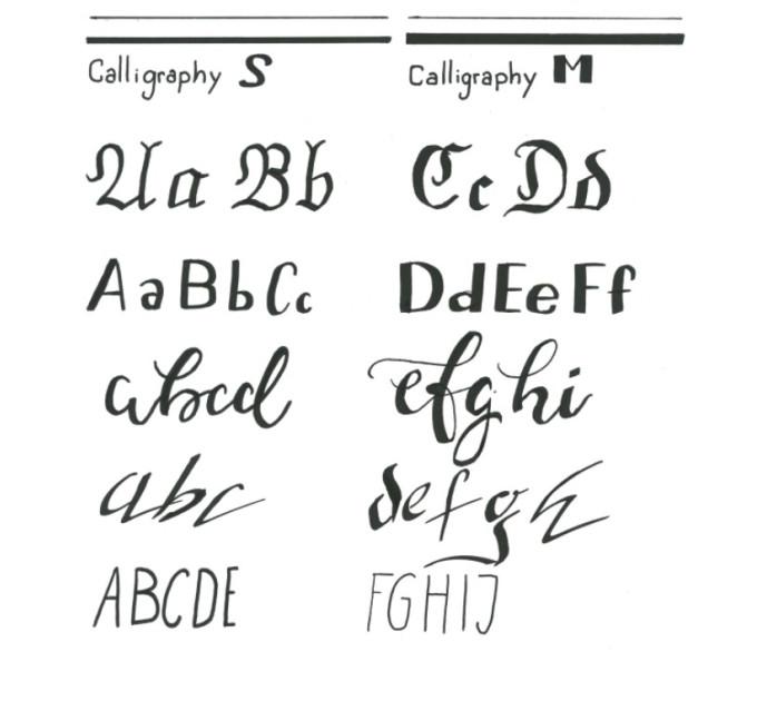 Лайнеры для каллиграфии Copic Multiliner Classic Calligraphy-Set, 2 шт - 2207519
