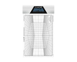 Сетка перспектива D  для зарисовок 26*30,5 см Graph'it
