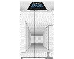 Сетка перспектива E для зарисовок 26*30,5 см Graph'it