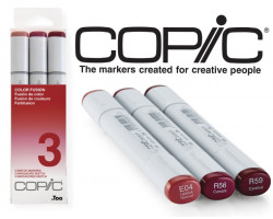 Маркеры Copic Sketch Set Color Fusion 3 3 шт 21075653