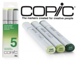 Маркеры Copic Sketch Set Color Fusion 5 3 шт 21075655