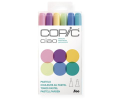 Маркеры Copic Ciao Set Pastels 6 шт 22075667