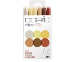 Маркеры Copic Ciao Set Hair  6 шт 22075668