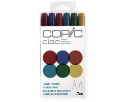 Маркеры Copic Ciao Set Jewel tones 6 шт 22075670
