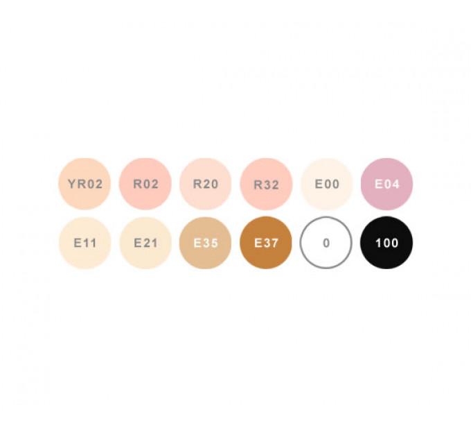 Маркеры Copic Ciao Skin Tones 12 шт 22075705