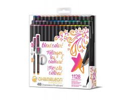 Набор ручек Chameleon Fineliner 48 шт - Brilliant Colors FL4801