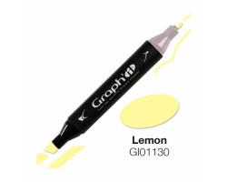 Маркер Graph'it двусторонний Лимон