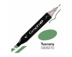 Маркер Graph'it двусторонний Тоскана (бледно-зеленый)