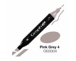 Маркер Graph'it двусторонний Розово-серый 4