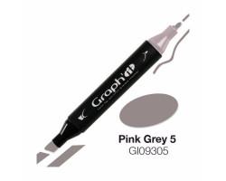 Маркер Graph'it двусторонний Розово-серый 5