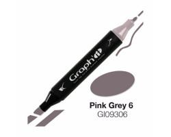 Маркер Graph'it двусторонний Розово-серый 6