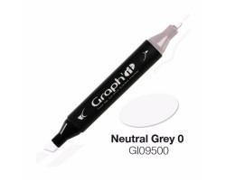 Маркер Graph'it двусторонний Нейтральный серый 0