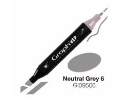 Маркер Graph'it двусторонний Нейтральный серый 6