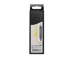 Маркеры Graph'it в наборах, Оттенки желтого, 3 шт - GI00370