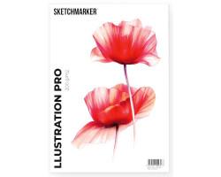 Альбом для маркеров A4 SKETCHMARKER ILLUSTRATION PRO PAD 200gsm (A4,, 30 листов, 200 g плотность)
