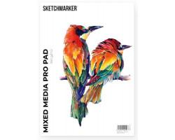 Альбом для маркеров A4 SKETCHMARKER MIXED MEDIA PRO PAD (A4, 30 листов, 160 g плотность)