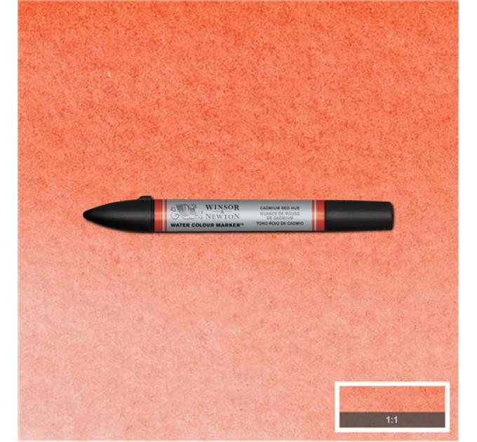 Маркер акварельный Winsor & Newton, № 095 Кадмий красный темный